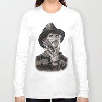 freddy krueger Long Sleeve T-shirts featuring freddy krueger by calibos