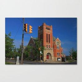 Ashland Avenue Baptist Church I Canvas Print