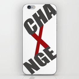 xCHG iPhone Skin