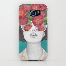 The optimist // rose tinted glasses Slim Case Galaxy S8