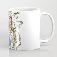 sailor moon Mugs featuring Sailor Moon by Brizy Eckert