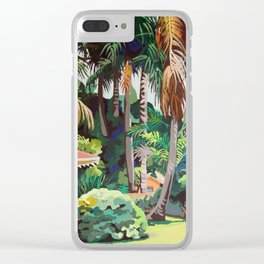 6 Palms Clear iPhone Case