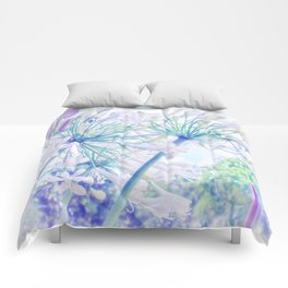 African Lilies (Agapanthus) Comforters