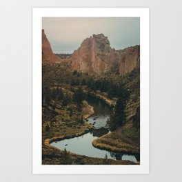 Smith Rock Art Print