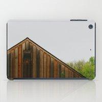 cabin iPad Cases featuring Cabin Season by Tina Crespo