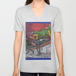 Jills Street - New York Unisex V-Neck