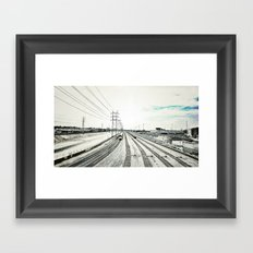 Los Angeles River Framed Art Print
