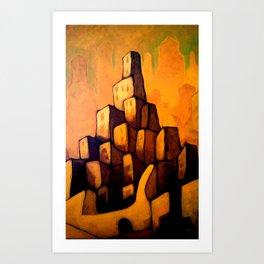Lost Carcosa Art Print