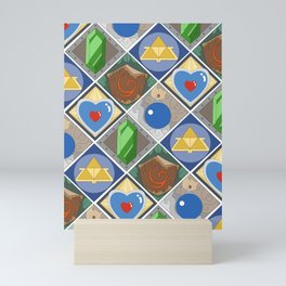 Link's Pattern Mini Art Print