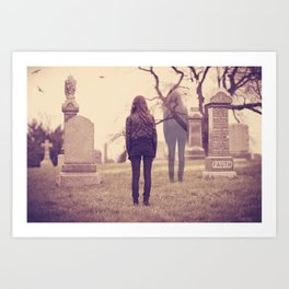 Returning to the Afterlife  Art Print