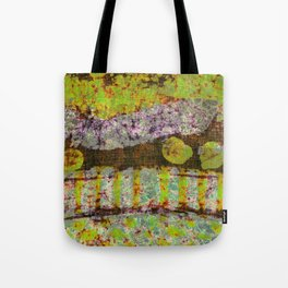 Vintage Lime Tote Bag