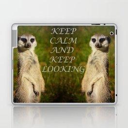 I am a model - a meerkat Laptop & iPad Skin