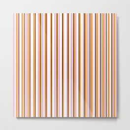 Cool Stripes Metal Print