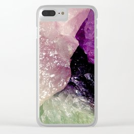 Let's Get Spiritual Clear iPhone Case