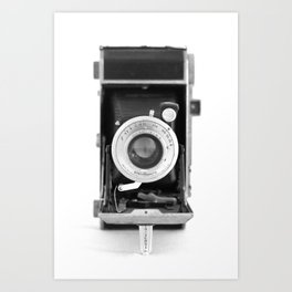 Vintage Camera No. 1 Art Print