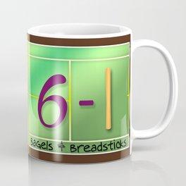 Tennis Players Bagels & Breadsticks  Coffee Mug