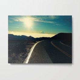 Road To The Sky Metal Print