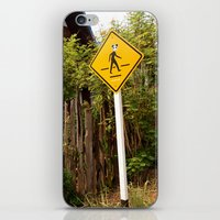 animal crossing iPhone & iPod Skins featuring Crossing by TheStaticTraveler