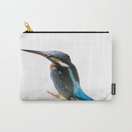 A Beautiful Kingfisher Bird Vector Carry-All Pouch