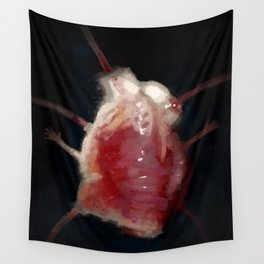 Mutated heart Wall Tapestry
