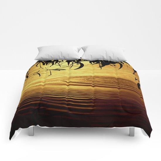 Honey Ripples Comforters