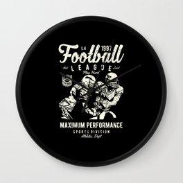 Football League Wall Clock