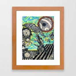 Risk Framed Art Print