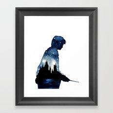 HarryPotter Framed Art Print