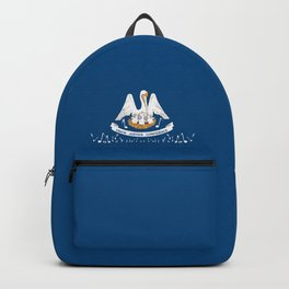 Musical Louisiana State Flag Backpack