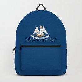 Musical Louisiana State Flag Backpack