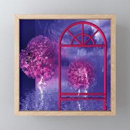 fancy trees for you -1- Framed Mini Art Print