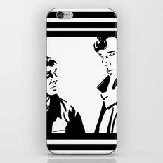 Simple Sherlock iPhone & iPod Skin