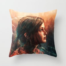 Cordyceps Throw Pillow