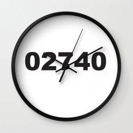 02740 Wall Clock