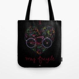 I Love my Bicycle Tote Bag