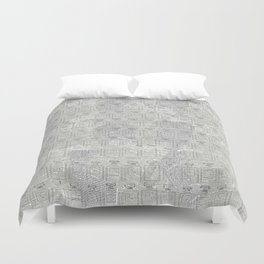 Brand Pattern Duvet Cover