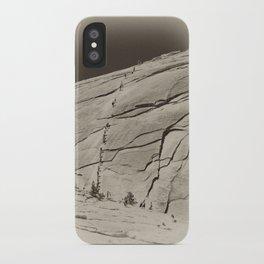 Yosemite Half Dome Hikers iPhone Case