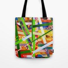 Lisa (stripes 11) Tote Bag