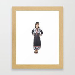 Indian Designer Kurtis for Ladies Framed Art Print