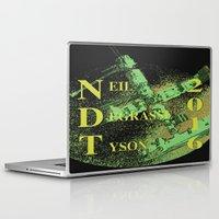 neil gaiman Laptop & iPad Skins featuring Neil Degrasse Tyson 2016 Vintage by Abram Freitas