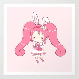 cure whip Art Print