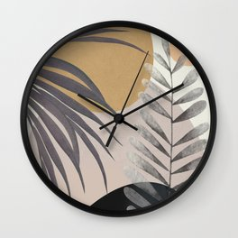 Elegant Shapes 15 Wall Clock