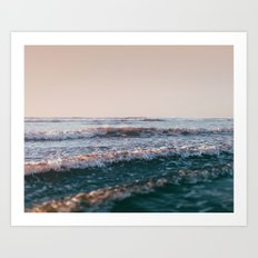 Pacific Lullaby Art Print