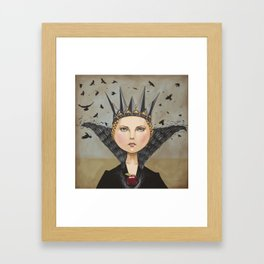 Queen Ravenna Framed Art Print