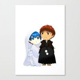 KagaKuro Wedding (Without Bg vers) Canvas Print