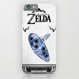 Zelda legend - Ocarina of time iPhone Case
