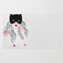 Million Dollar Catwoman Rug