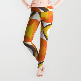 Orange Shadow Leggings