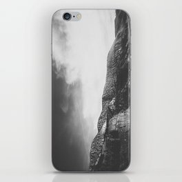 Utah Desert Road-B&W iPhone Skin