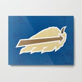 Buffalo Sky Bisons Metal Print